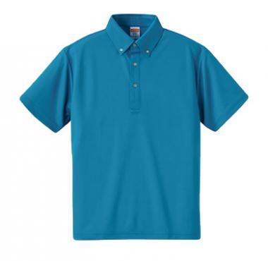 ドライアスレチックポロシャツ(ボタンダウン)