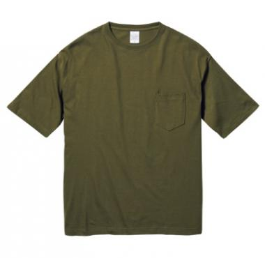 ビッグシルエットTシャツ(ポケット付)5008