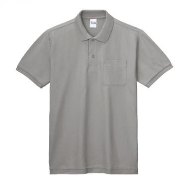 T/Cポロシャツ(ポケット付き)100-VP