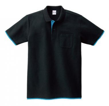 ベーシックレイヤードポロシャツ(ポケット付き)195-BYP