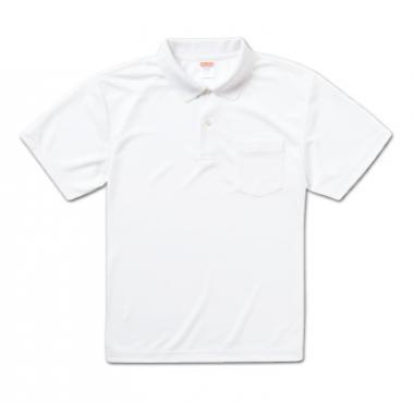 ドライアスレチックポロシャツ(ポケット付き)