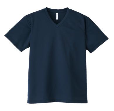 ドライVネックTシャツ337-AVT
