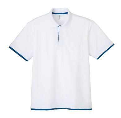 ドライレイヤードポロシャツ(ポケット付き)339-AYP