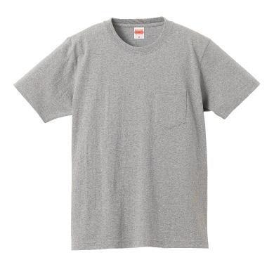 スーパーヘヴィーウェイトTシャツ(ポケット付)4253