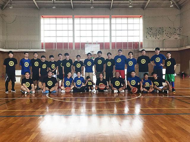 母校のバスケットボール部のOB会(バスケの集い)を行いました