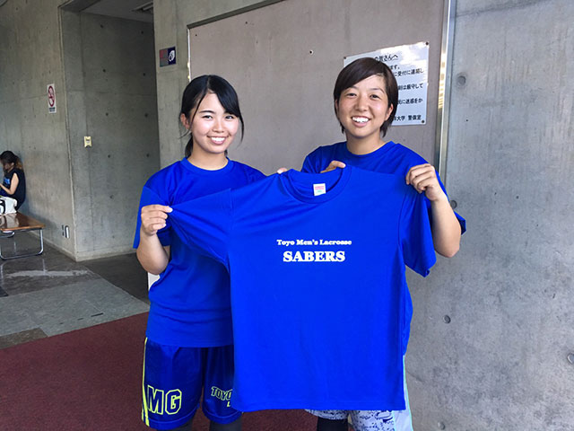 試合の応援席がこのTシャツで染まることが今からとても楽しみです!