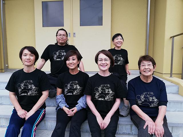 劇団のチームTシャツインファクトリーで制作