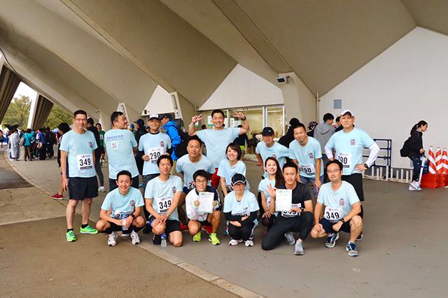 オリジナルTシャツ リレーマラソン大会