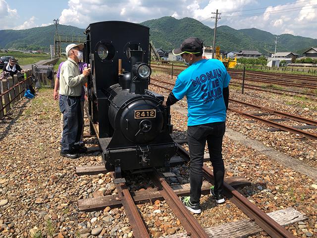 樽見鉄道本巣駅でのミニ機関車イベント|オリジナルTシャツ